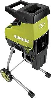 Sun Joe CJ603E 15-Amp 1.7-Inch Cutting Diameter Electric Silent Wood Chipper/Shredder, Green (Renewed)