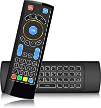 Bluetooth CR3 Wireless Mini Keyboard,Air Remote Mouse Control with Backlit,Best for Amazon Fire TV ,Android TV Box,HTPC, IPTV, PC, Raspberry Pi 3 …