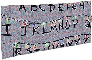 chinawh Pel/ículas de Terror Personalizadas Toalla de Playa Stranger Things Toalla de Ducha de Microfibra Alfombra Grande para Viajes Senderismo Camping Nataci/ón 70x140cm