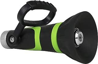 GREEN MOUNT Garden Hose Nozzle, Fireman's Hose Heavy Duty Nozzle, High Pressure Sprayer with Ergonomic Handle for Arthritis