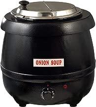 Winco ESW-66 Electric Soup Warmer, 10.5-Quart