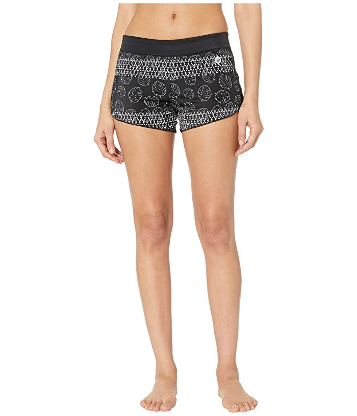 Roxy Island In The Sun Shorts (Anthracite Super Geo Palms) Women