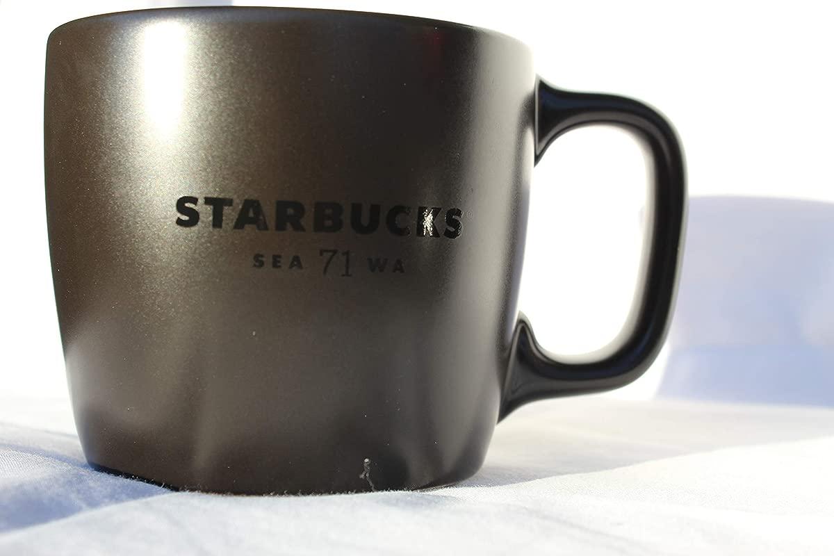 Starbucks Seattle 71 WA Coffee Mug 12 Fl Oz Black