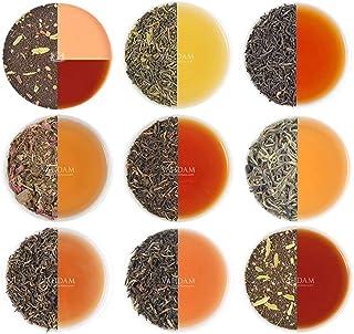 VAHDAM, Assorted Loose Leaf Tea Sampler - 10 TEAS, 50 SERVINGS - Black Tea, Green Tea, Oolong Tea, Chai Tea, White Tea | T...