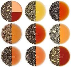 VAHDAM, Assorted Loose Leaf Tea Sampler - 10 TEAS, 50 SERVINGS - Black Tea, Green Tea, Oolong Tea, Chai Tea, White Tea   Tea Variety Pack   Hot, Iced, Kombucha Tea