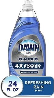 Dawn Platinum Dishwashing Liquid Dish Soap, Refreshing Rain Scent, 24 Fl Oz