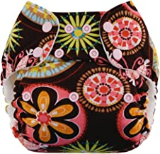 Swaddlebees One Size Simplex All In One Diapers, Baby Blooms (Discontinued by Manufacturer)