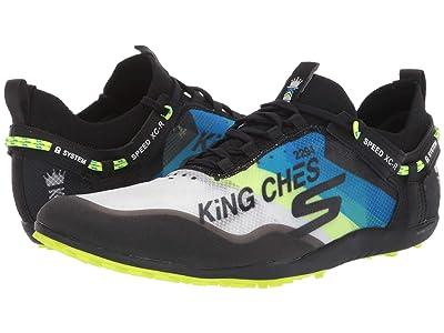 SKECHERS Speed XC-R (Black/Blue) Men