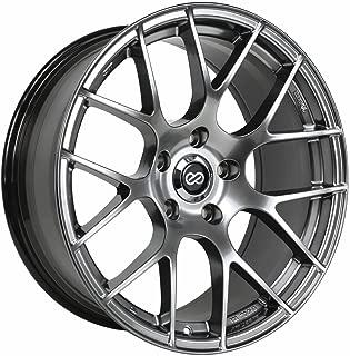 19x8.5 Enkei Raijin (Hyper Silver) Wheels/Rims 5x114.3 (467-985-6535HS)