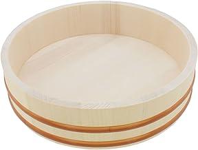 BambooMN Hangiri Sushi Oke Reis-Mischwanne, 30,5 cm, 1 Stüc