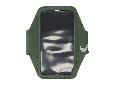 Nike Lean Arm Band Plus (Juniper Fog/Black/Silver) Handbags