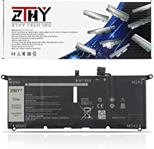ZTHY 52Wh DXGH8 Laptop Battery for Dell XPS 13 9370 9380 Inspiron 13 7390 7391 2-in-1 5390 5391 14 7400 7490 Latitude 3301...