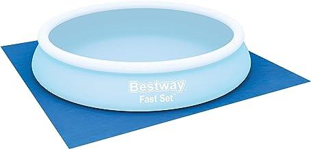 Bestway 58002 Bodenplane Pools, blau, 396 x 396 cm