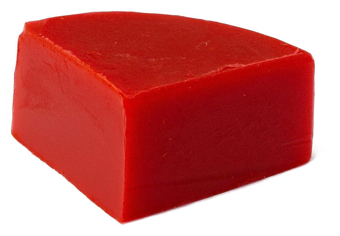 焦がす裁判所ムスグリセリン クリアソープ 色チップ 赤 25g (MPソープ)