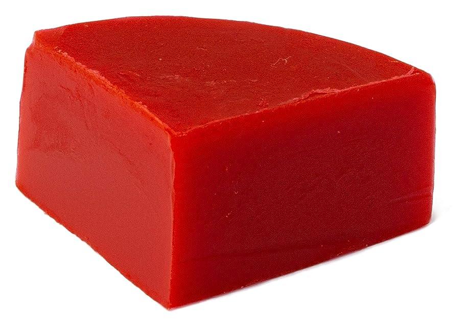 より多い町肯定的グリセリン クリアソープ 色チップ 赤 25g (MPソープ)