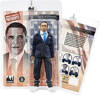 US Presidents 8 Inch Action Figures Series: Barack Obama [Blue Suit]