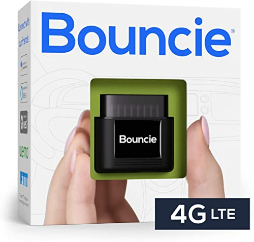Bouncie - 4G LTE, GPS Car Tracker, Vehicle Location, Accident Notification, Route History, Speed Monitoring, GeoFence...