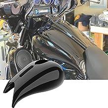 Benlari Side Wind Windshield Black Side Wind Air Deflectors Fairing Side Covers Compatible for Harley Davidson Touring Road Glide FLTRXS FLTRX CVO Ultra FLTRUSE Ultra FLTRU Limited FLTRK 2015-2020