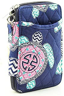 Wristlet Wallet for Girls Quilted Fun Designs with Phone Pouch