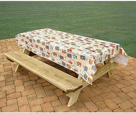 Direcsource Ltd Camping Tablecloth, Camping Trails