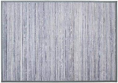 TAPIS BAMBOU LATTE 120X170 GRIS