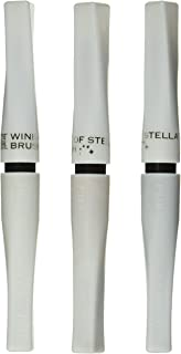 Zig Memory System Wink of Stella Brush Glitter Markers, Christmas Sparkle, Gold, Silver, Clear, 3-Pack