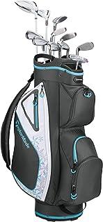 TaylorMade Golf Kalea Complete Golf Set (Dr, 3FW, 5FW, 5H, 6H, 7-PW, SW, Putter, Bag)