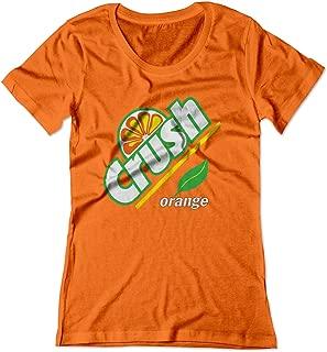 Women's Orange Crush Carbonated Soda Beverage Vintage Shirt