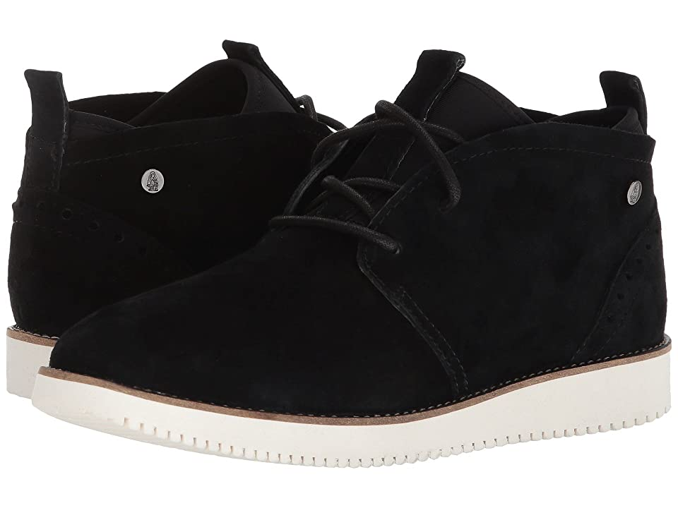 Hush Puppies Chowchow Chukka (Black Suede) Women