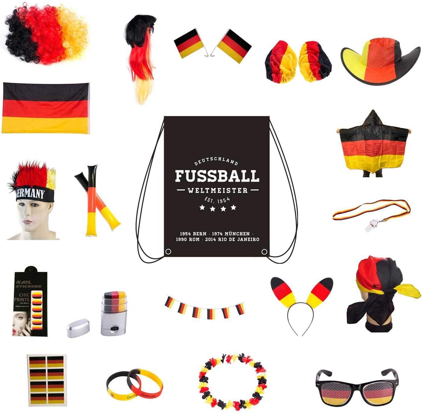 Deutschland Fanartikel – Set (24-teilig)