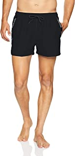 calvin klein logo tape mens swim shorts
