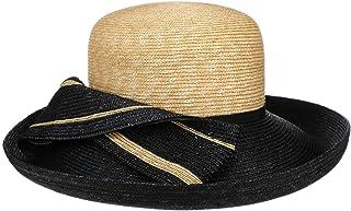 Lierys Cappello di Paglia Majuna Twotone Donna - Made in Italy da Sole Estivo con Nastro Grosgrain Primavera/Estate