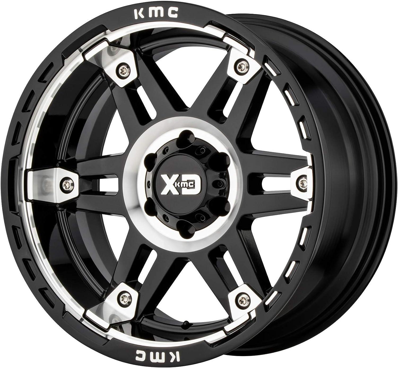Deal on 25% OFF Wheels XD840 17X9 5X5.5 -12MM MACH G-BLK Nashville-Davidson Mall AUTO Accessory