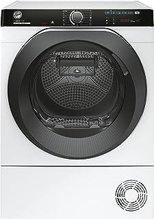 Hoover H-DRY 500 NDPEH10A2TCBEXS-S Wärmepumpentrockner / 10 kg / Smarte Bedienung mit WiFi + Bluetooth / AquaVision-Kondenswasserbehälter mit optischer Füllanzeige direkt im Bullauge / Symbolblende