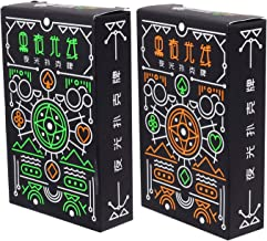 TOYMYTOY 2 Boxes Luminous Playing Cards Fluorescent Poker Cards Playing Card Glow in The Dark Bar Playing Card Deck Playin...