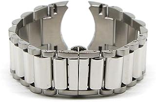 29MM Silver Stainless Steel 8 Inch Watch Strap Bracelet Fits Commander Men's Watch