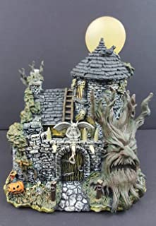 Hawthorne Village Universal Studios Monsters Collection Wolf Man Lair Collectible Halloween House Display