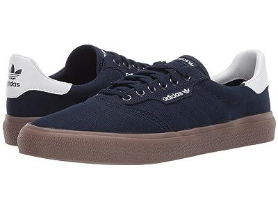 adidas Skateboarding 3MC (Collegiate Navy/Footwear White/Gum 5) Men
