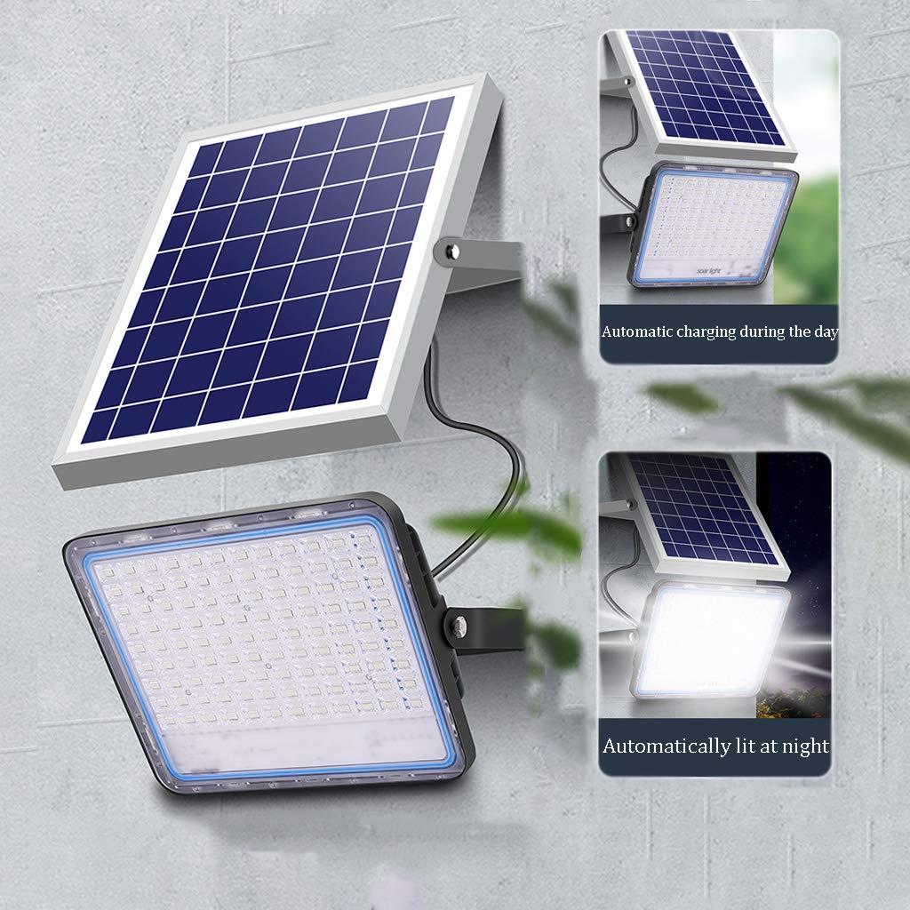 Luz Solar Exterior,[360LED ] Foco Solar Exterior 3000mAH, Lámpara Solar Impermeable con 2 Modos Inteligentes para jardín,Terrazas, Escaleras: Amazon.es: Hogar