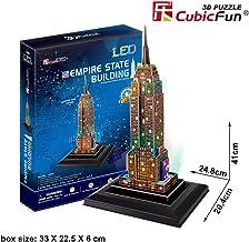 CubicFun 3D Puzzle LED Empire State Building 38 Piezas