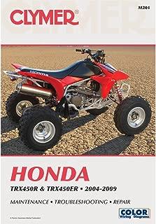 2004-2009 Honda TRX450R TRX450ER Clymer Repair Manual