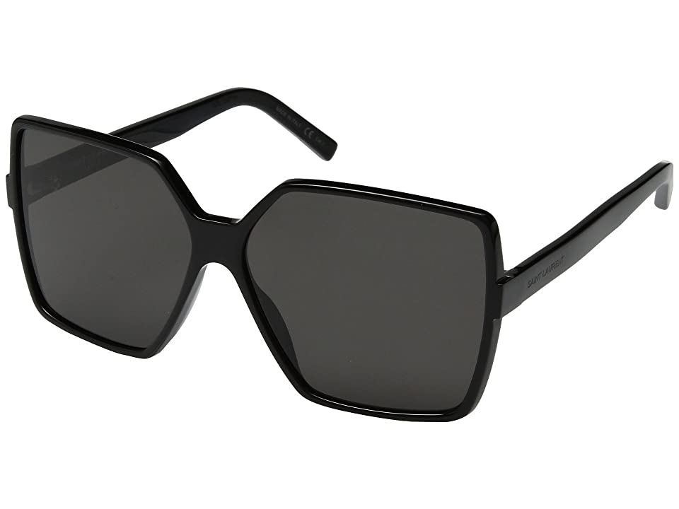 Saint Laurent SL 232 Betty (Black) Fashion Sunglasses
