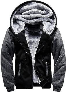 SWISSWELL Fleece Hoodie Men Zip Up Soft Sport Hooded Sweatshirt