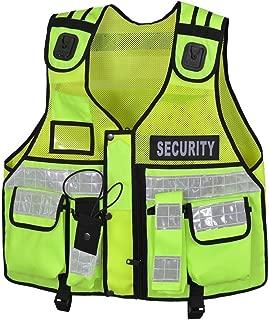 hi vis security vest