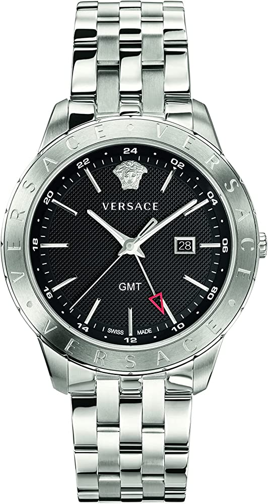 Versus versace orologio da uomo in acciaio inossidabile VEBK00418