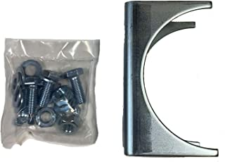 Ghost Controls AX4R Round Post Adapter Brackets to Adapt to 4 inch Round Steel Posts for Automatic Gate Opener Systems