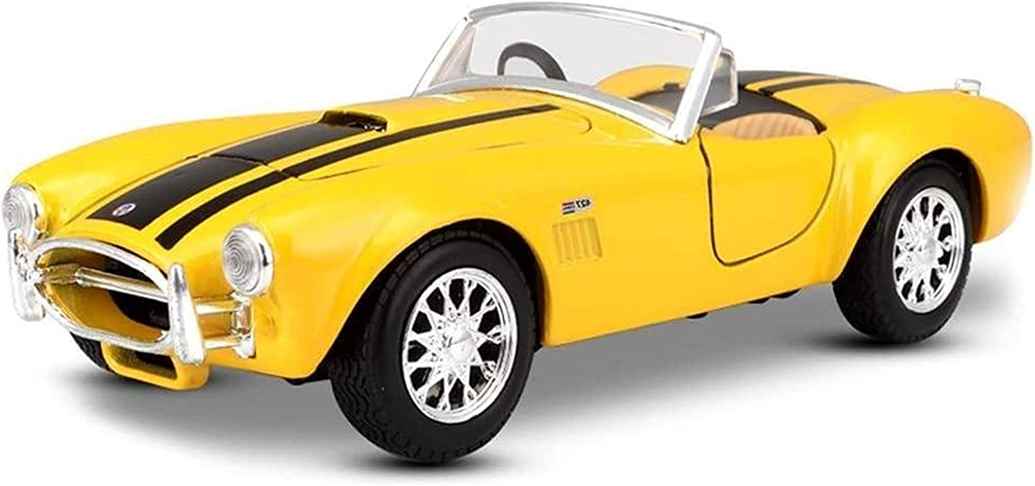 Jucaiyuan Max 83% OFF Car Model 1:24 Shelby Die-C Alloy Max 53% OFF Simulation 427 Cobra