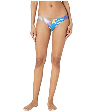 Maaji Vacation Nation Signature Cut Bottoms (Multicolor Blue) Women