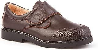 Zapatos Colegiales con Puntera Reforzada Todo Piel, mod.452