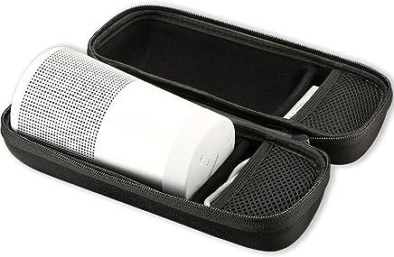 ProCase Bose SoundLink Revolve Custodia, borsa da viaggio portatile Hard EVA Custodia Protezione Shell Protezione per Bose SoundLink Revolve Altoparlante, Caricatore da parete e cavo USB -Nero - Trova i prezzi più bassi